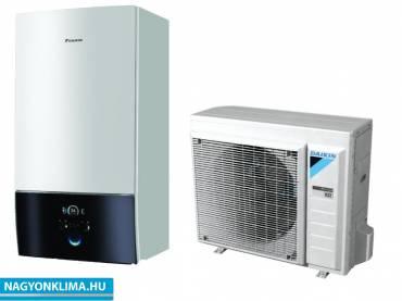 Daikin Altherma 3 ERGA08DV/EHBX08D6V hőszivattyú, fűtő-hűtő 8 kW