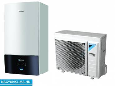 Daikin Altherma 3  1 fázis hőszivattyú, fűtő-hűtő 6 kW