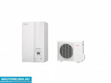 Fujitsu Waterstage Comfor (WSYA080ML3 / WOYA060KLT) 1 fázisú osztott levegő-víz hőszivattyú HMV tartállyal 5.5 kW