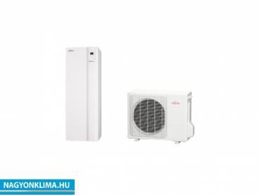 Fujitsu Waterstage Comfor WGYA080ML3/WOYA080KLT 1 fázisú osztott levegő-víz hőszivattyú HMV tartállyal 7.5 kW