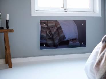 Nordart Adax Clea CW üvegfelületű fűtőpanel 34 cm magas 83000 Ft-tól