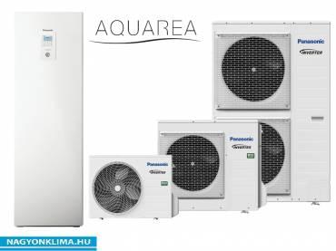 Osztott kivitelű T‐CAP levegő‐víz hőszivattyú 3 fázisú KIT‐AQC09HE8
