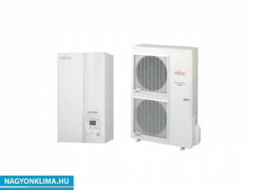 Fujitsu Waterstage HP 14/3F WSYK160DG6 / WOYK140LCA 3 fázisú osztott levegő-víz hőszivattyú 13,5 Kw
